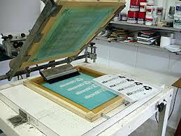serigrafia em papel